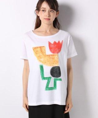 コットンFABRICAプリントTシャツ・カットソー