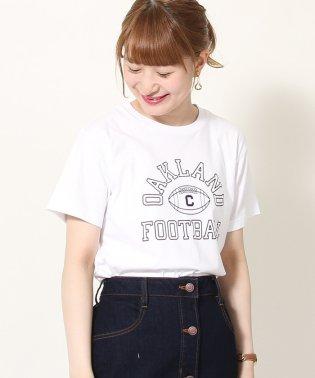 カレッジプリントベーシックTシャツ