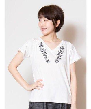【欧州航路】パローツ刺繍Tシャツ LID-9106