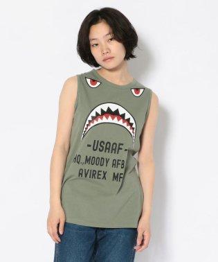 #フライングシャークタンクトップ/Flying Shark Tank Top
