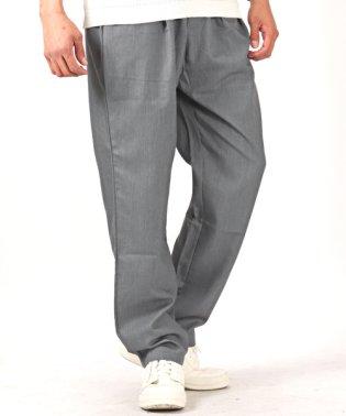 TRストレッチ1タックスラックスワイドパンツ/ワイドパンツ メンズ パンツ ワイド TRストレッチ 1タック