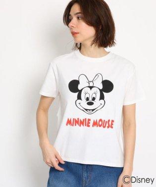 【限定アイテム】ミニーマウスプリントTシャツ(ディズニー)