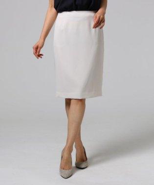 ◆【洗える】ステイフレッシュ バックスリットストレッチスカート