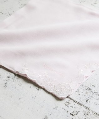 ローズ刺繍ハンカチ
