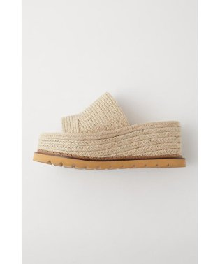 JUTE SOLE WEDGE ミュール