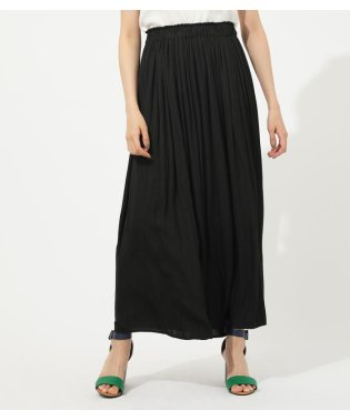 GATHER FLARE SKIRT