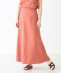 Demi-Luxe BEAMS / リネン ロングスカート