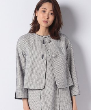 【セットアップ対応商品】ステッチツイルジャケット