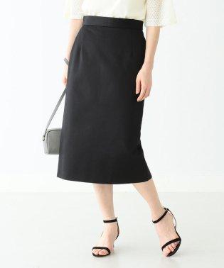 Demi-Luxe BEAMS / コットンサテン タイトスカート