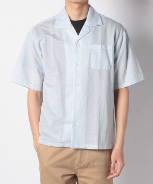 【WAREHOUSE】ストレッチオープンカラー半袖シャツ