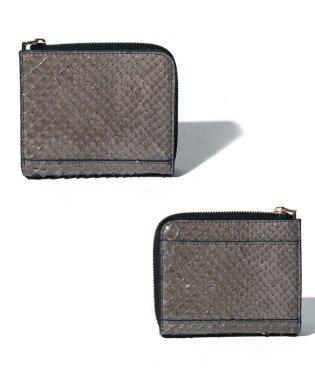 【python】パイソン コンパクト 折財布