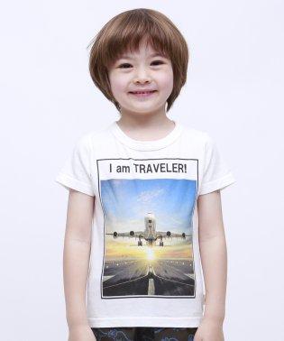 飛行機半袖TEE