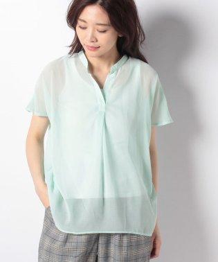 【Nachu&Diary】シフォンスキッパーシャツ ORG0118