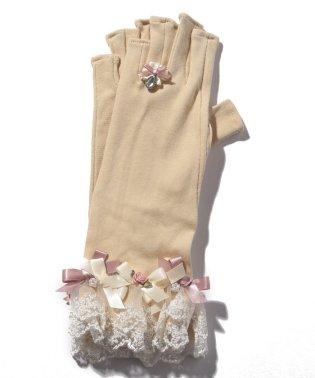 バラリボンショートUV手袋