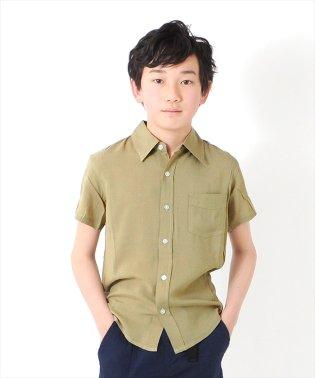 無地半袖シャツ