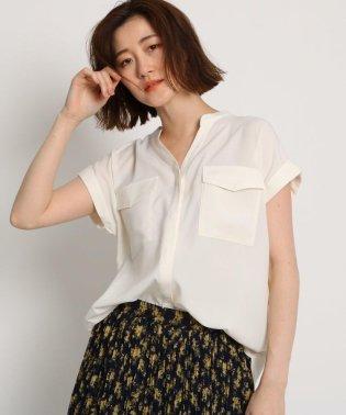 【Lサイズあり】【洗える】【GISELe6月号掲載】スキッパーシャツ