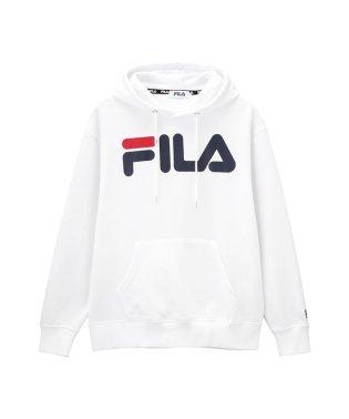FILA ロゴプリントプルパーカー FL1648