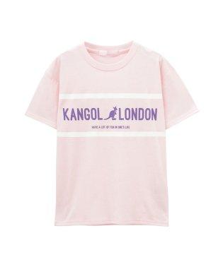 KANGOL ガールズ プリントTシャツ 887924