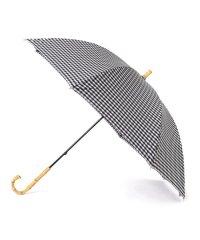 ギンガムチェック 晴雨長傘