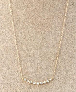 18KYG 0.3ct ダイヤモンド ネックレス