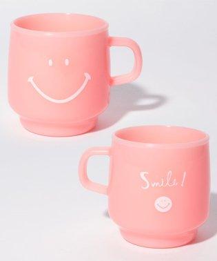 スマイル樹脂マグカップ