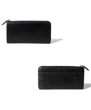 【python】パイソン マチ付き L字 長財布