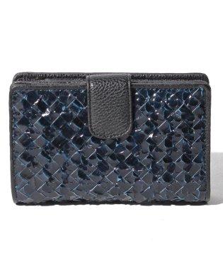 【python】パイソンメッシュ 中折 コンパクト 財布