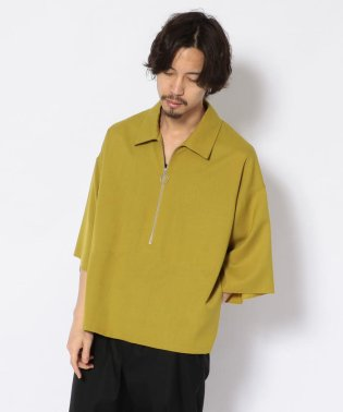 bukht/ブフト/Half Zip Pullover Shirts - Glen Check/ハーフジッププルオーバーシャツ