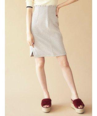 レトロミディタイトスカート