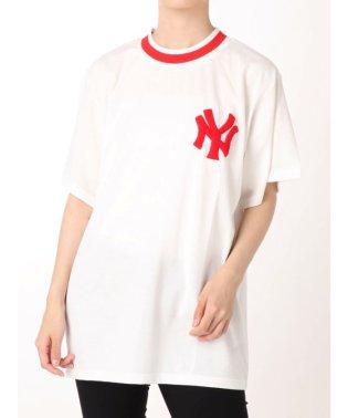 New York Yankees ラインリブ Tシャツ