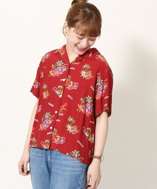 【セットアップ可能】ハワイアンプリントシャツ