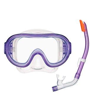 タバタ/キッズ/長く使える高品質シリコーン素材 子供用高機能マスク&スノーケルセット