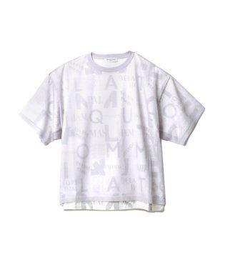 【GELATOPIQUEHOMME】ロゴドッキングTシャツ