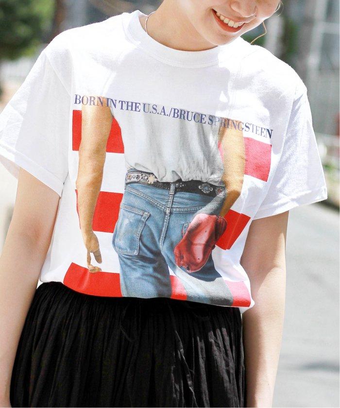 【LIVENATION /ライブネイション】BRUSE BORN IN THE USA Tシャツ◆