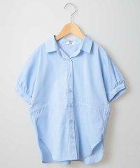 [100-130]ウエストドロストチュニックシャツ[WEB限定サイズ]