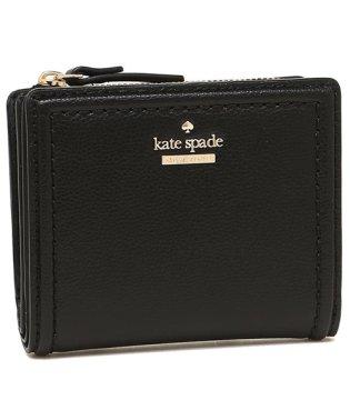 KATE SPADE WLRU5294 001 PATTERSON DRIVE SMALL SHAWN レディース 二つ折り財布 無地 ブラック 黒