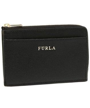 FURLA 907847 PR75 B30 O60 BABYLON M CREDIT CARD CASE バビロン 名刺入れ・カードケース 無地 ONYX 黒