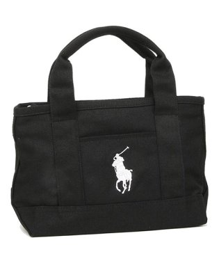POLO RALPH LAUREN RA100115 GIRLS TOTE レディース トートバッグ 無地 BLACK/WHITE 黒