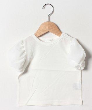 パフ5分袖Tシャツ