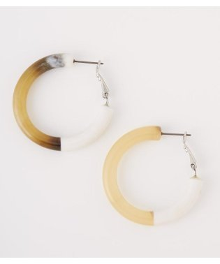 BI COLOR CIRCLE P/EARRINGS