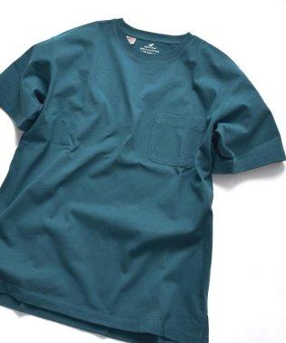 SHIPS JET BLUE: USAコットン ベーシックポケットTシャツ
