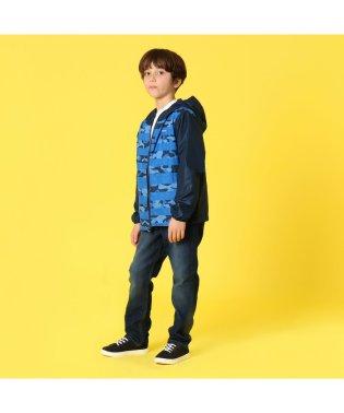【KIDS】ピクセルグラバーリバーシブルジャケット