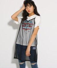 ★ニコラ掲載★【NiCORON 】ロックTシャツ+ワンピースセット