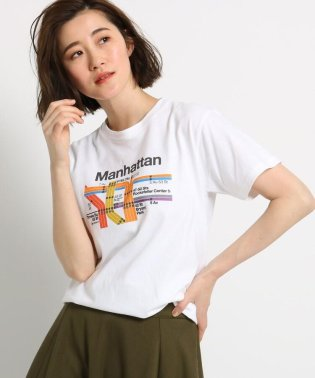 【洗える】MTA路線図イラストTシャツ