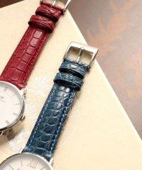 腕時計 付け替え用 ベルト 本革 アリゲーター 16mm