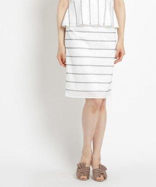 【洗える】クリームレース スカート