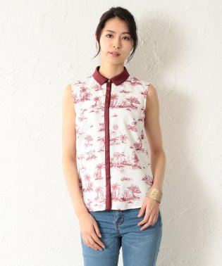 【LOVELESS】WOMEN Toile du Jouy ノースリブラウス