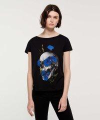 フラワーグラフィック半袖Tシャツ