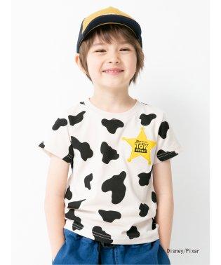 kids トイ・ストーリー カウ柄Tシャツ