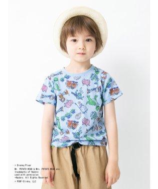 kids トイ・ストーリー 総柄Tシャツ
